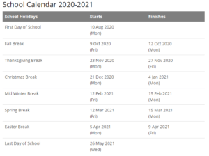 Fulton County School Calendar