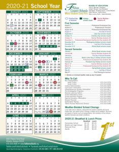 Fulton County Public Schools Calendar
