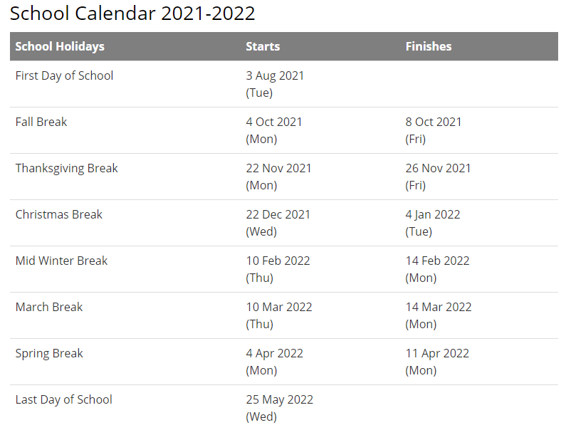 Barrow County School Calendar 2021-2022