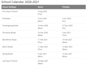 Barrow County School Calendar